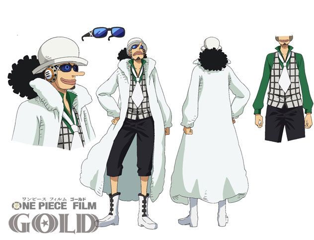 One Piece Film Gold, Usopp