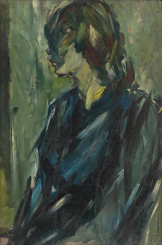 Vincent Hložník -  Profil, 1940