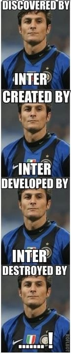 Javier Zanetti Inter Milan Argentina