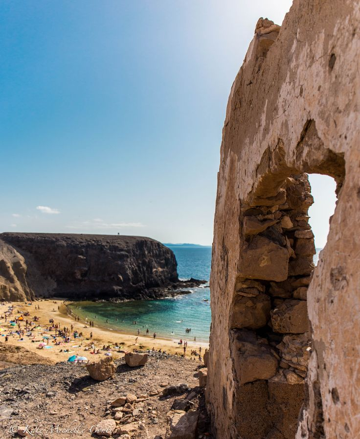 Playa Papagayo. Lanzarote, Canary Islands. theitalianchica.com