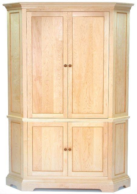 Corner Armoire | ClearLake Furniture