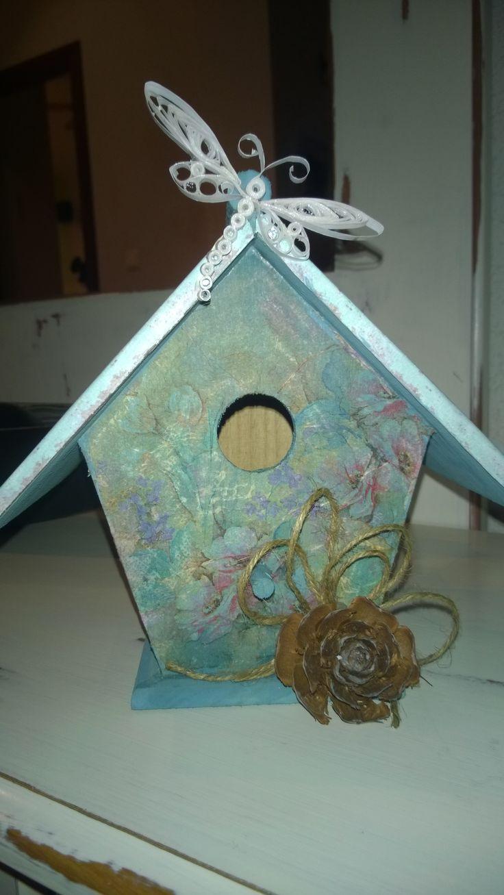 decora casas de pajaros