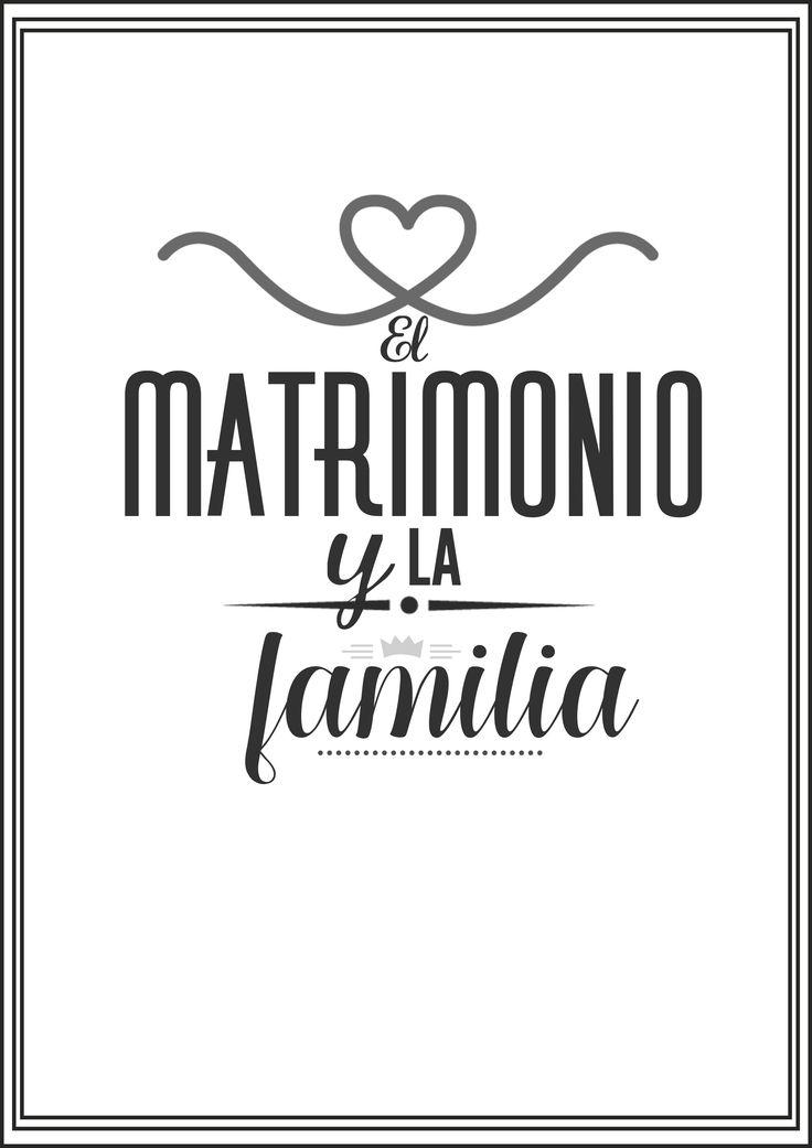 El Matrimonio y la Familia Doctrina Basica