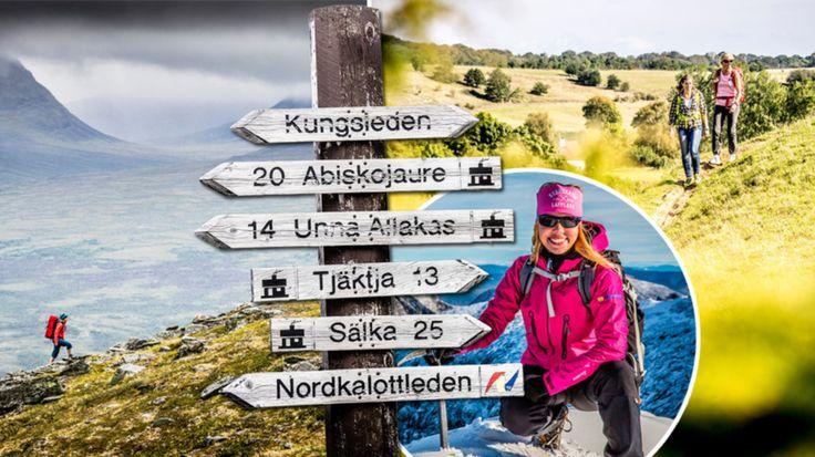 Sveriges 11 bästa vandringsleder.