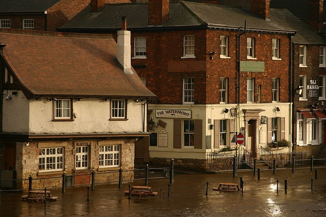 in York, York-The Kings Arms (known as the pub that floods) and The Waterfront. Can not count the lagers I have had in the Kings Arms!!