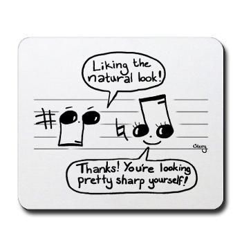 For all you sharp music-lovers out there.