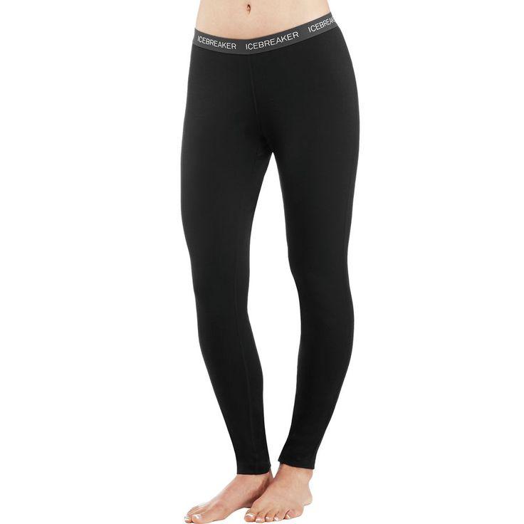 Icebreaker - BodyFit 200 Oasis Leggings - Women's - Black