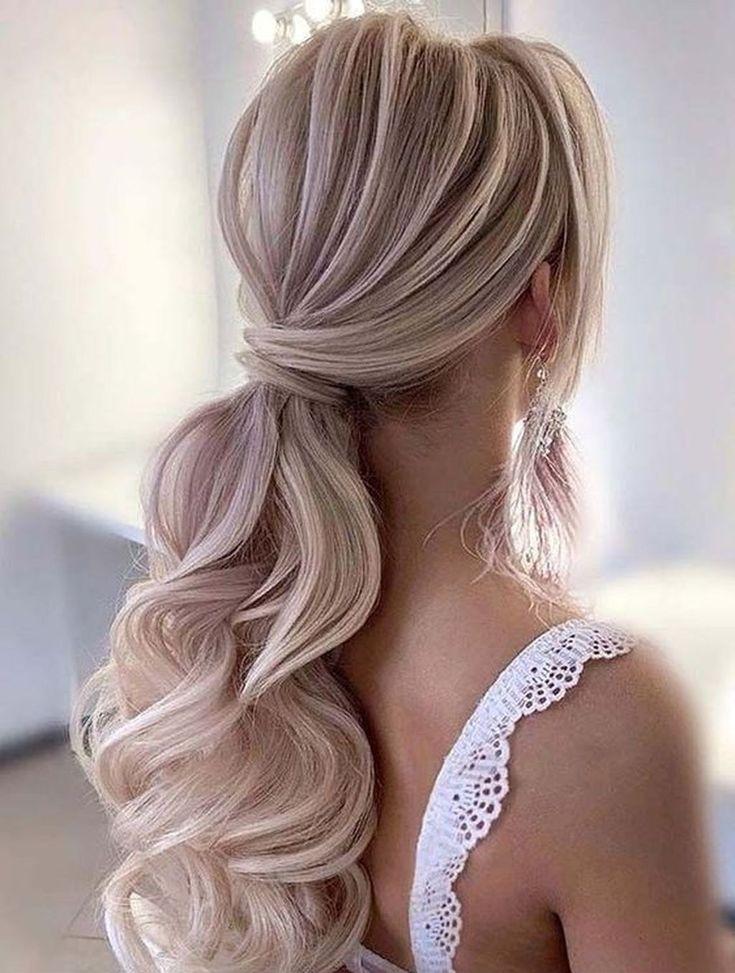 40 Perfect Wedding Hairstyles Ideas For Long Hair – Frisuren