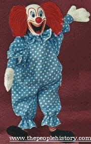 Popular Dolls Of The 1960S | Bozo the Clown Talking Doll From The 1960s