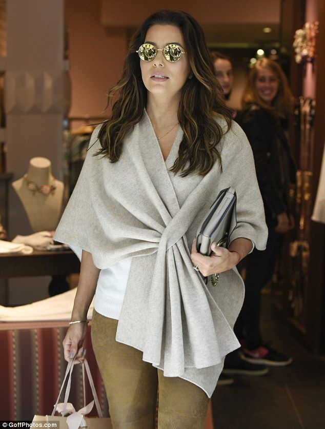 Retail therapy: Desperate Housewives star Eva Longoria was set on gathering a few more key...