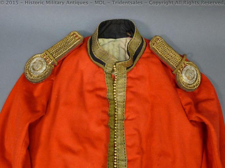 Scottish East Lothian Yeomanry Cavalry Officers Tunic and Epaulets c 1875 full dress jacket
