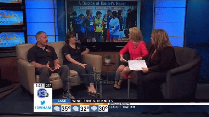 Daniel's Race will honor the late Daniel Myslivecek, who passed away in 2006 after fighting metastatic melanoma.  The parents of the Churchville-Chili student were in-studio to tell us more.