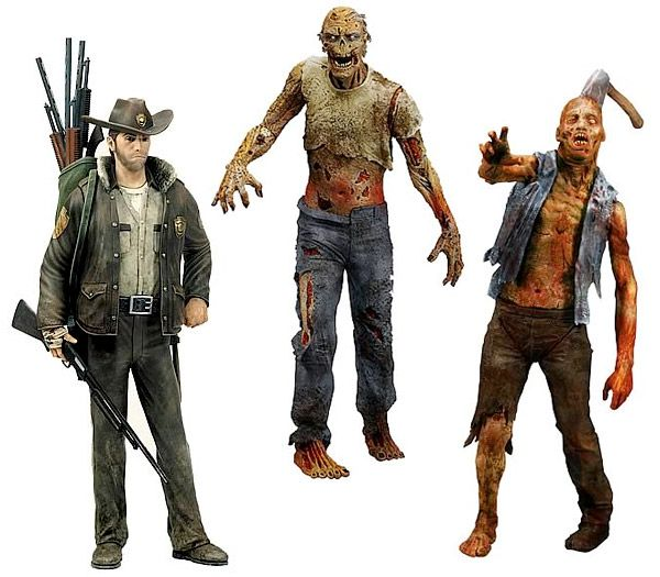 THE WALKING DEAD ACTION FIGURES - See best of PHOTOS of the Zombie TV series http://www.wildsound-filmmaking-feedback-events.com/the_walking_dead.html