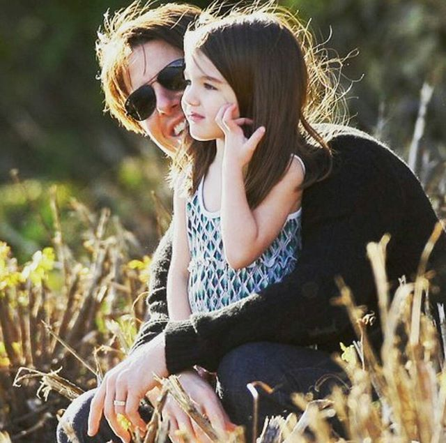 Enjoy the time together :) #tomcruise#and#suri