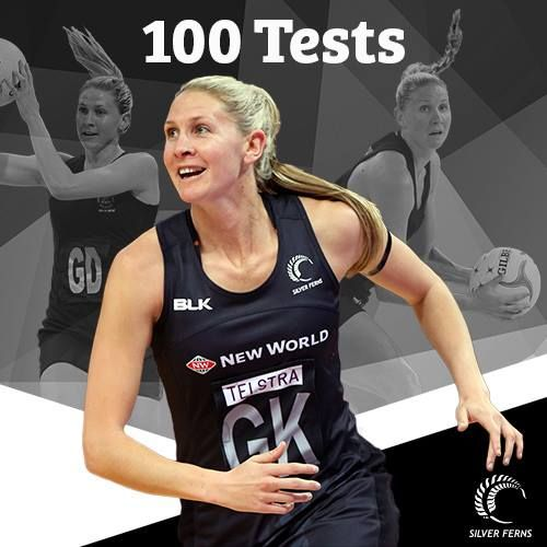 Congratulations to our captain KCMAY who plays her 100th Test for the Silver Ferns today!  25 Oct 2015.