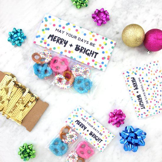 Download these free printable treat bag toppers to make last minute ...