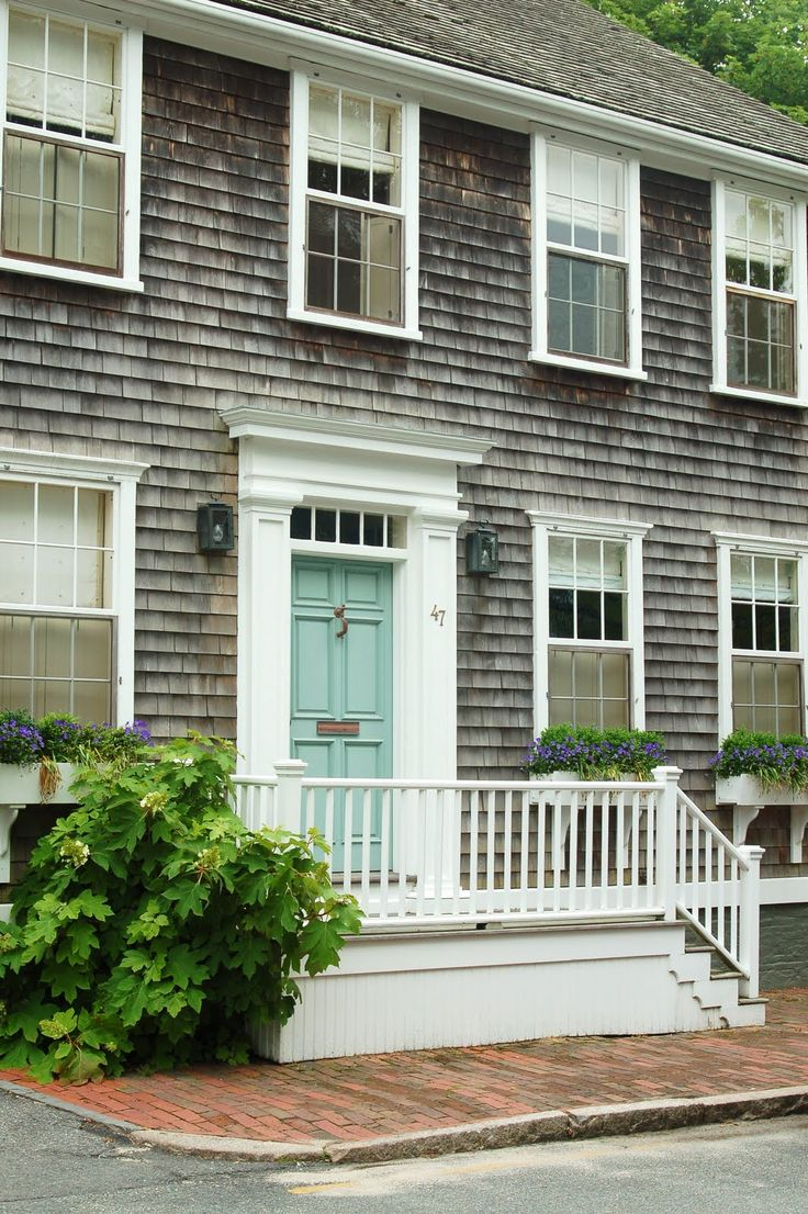 143 best painted doors images on pinterest house of for Nantucket shingles