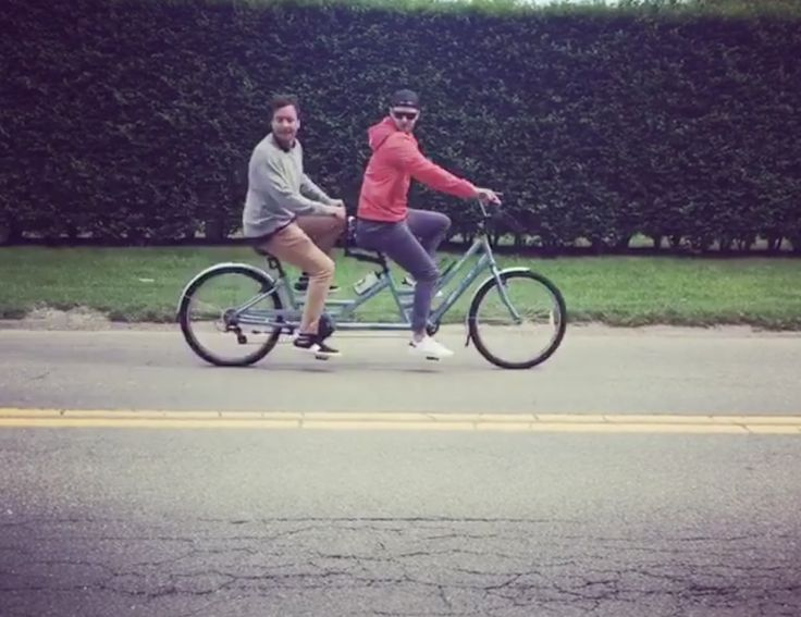 Justin Timberlake and Jimmy Fallon go bro-biking in the Hamptons! Justin Timberlake and Jimmy Fallon are hilarious. Remember when they did the Camp Winnipesaukee skit? It doens't matter what …