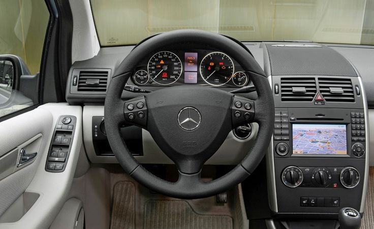 Mercedes Benz A160 Interior