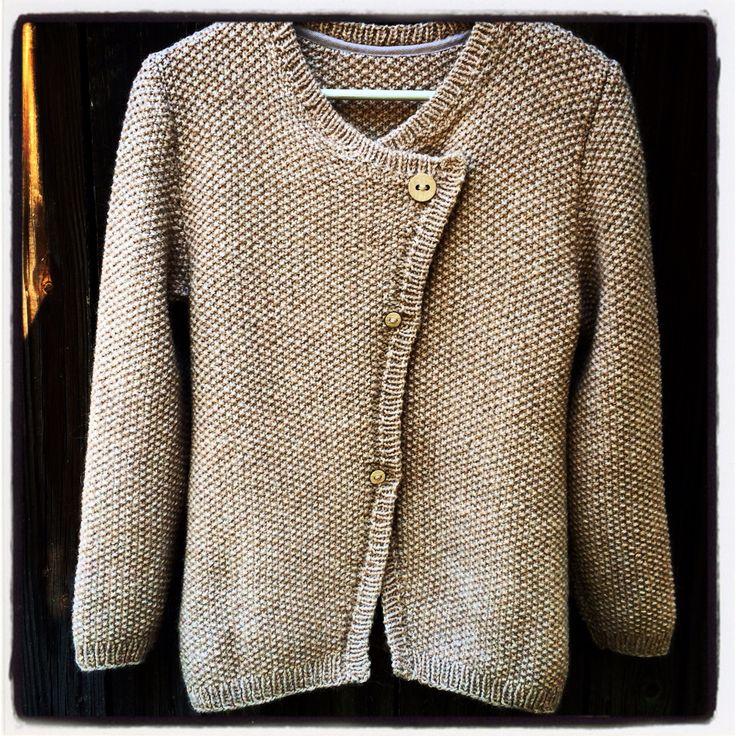 Alpaca knitted jacket