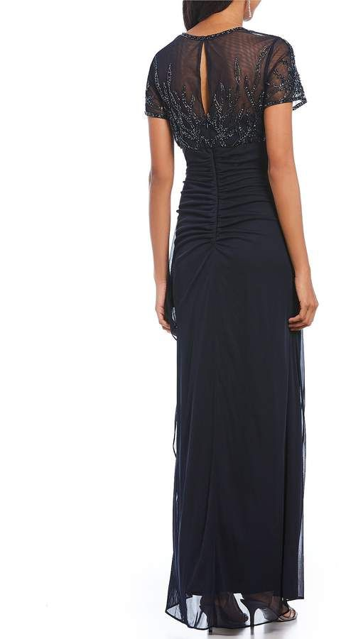 8afc297d Xscape Evenings Beaded Bodice Chiffon Gown #Beaded#Evenings#Xscape ...