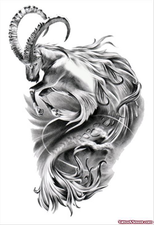 tattooviewer.com Content Images capricorn 23972p.jpg