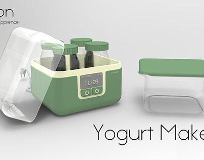 "Check out new work on my @Behance portfolio: ""Yogurt Maker"" http://be.net/gallery/34991593/Yogurt-Maker"