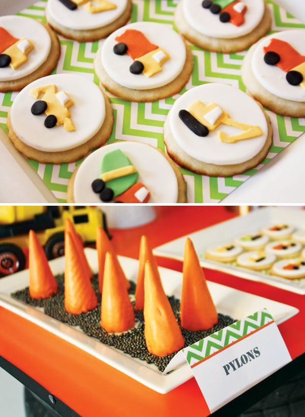 Creative Construction Truck Party {Twin Boys Birthday}
