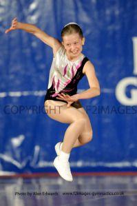National Sports Aerobics Championships. Rivermeade Sports Centre. Reading.
