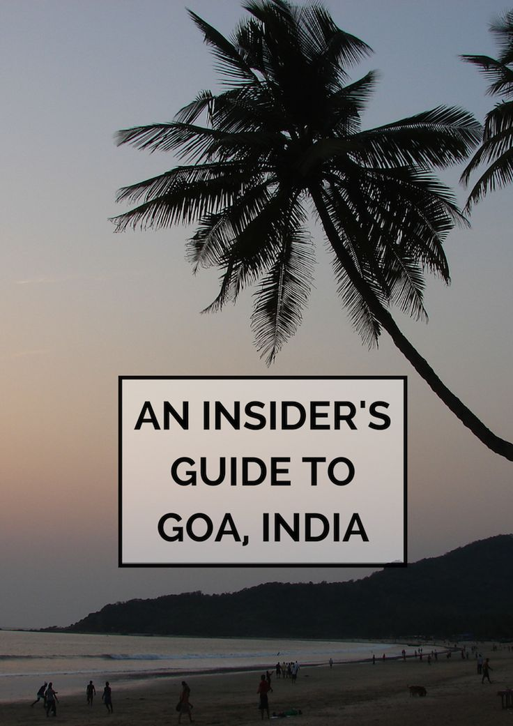 An Insider's Guide to Goa, India: 'insider' because she's half Goan. How I would love to meet her!