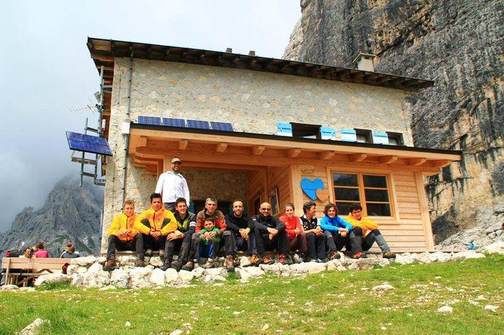 Soccorso alpino allievi San Martino