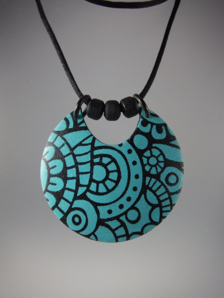 Annie Jacobi Jewelry polymer clay.