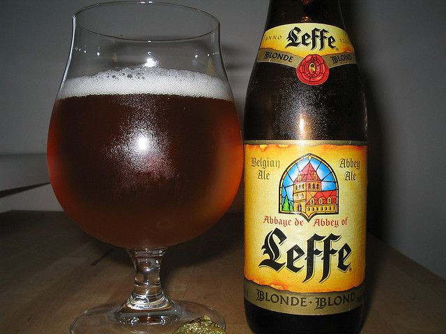 Love Leffe.   Belgian beer...they take their beer very seriously.  Each brand has it's own glass