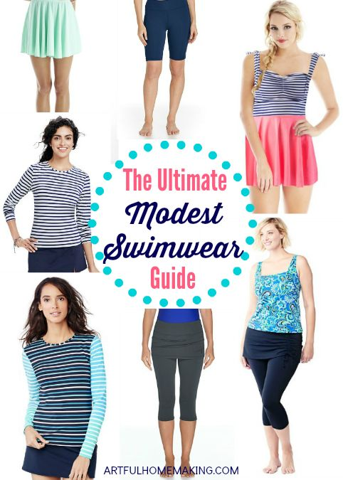 The Ultimate Modest Swimwear Guide - Artful Homemaking