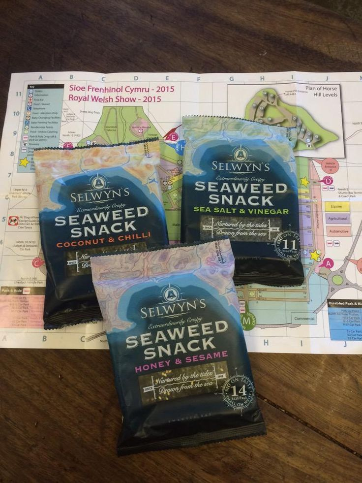 Love @SelwynsSeaweed nori I bought @royalwelshshow on Monday. My head's zinging with recipe ideas for its use #Wales