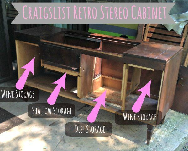 1000+ ideas about Stereo Cabinet on Pinterest | Mid ...