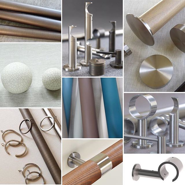 Introducing our NEW components section of the website for those awkward windows, create your own pole set here: https://walcothouse.com/pages/shop-by-component #DIY #curtainpole #designer #buildyourown #walcothouse #creativity