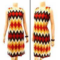 Dress Batik | jual batik murah, Batik modern, batik sarimbit, baju batik Dress Batik Solo KODE : DB 3105