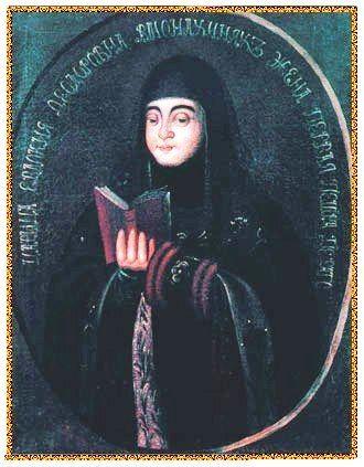 Царица Евдокия Лопухина, в монашестве Елена.