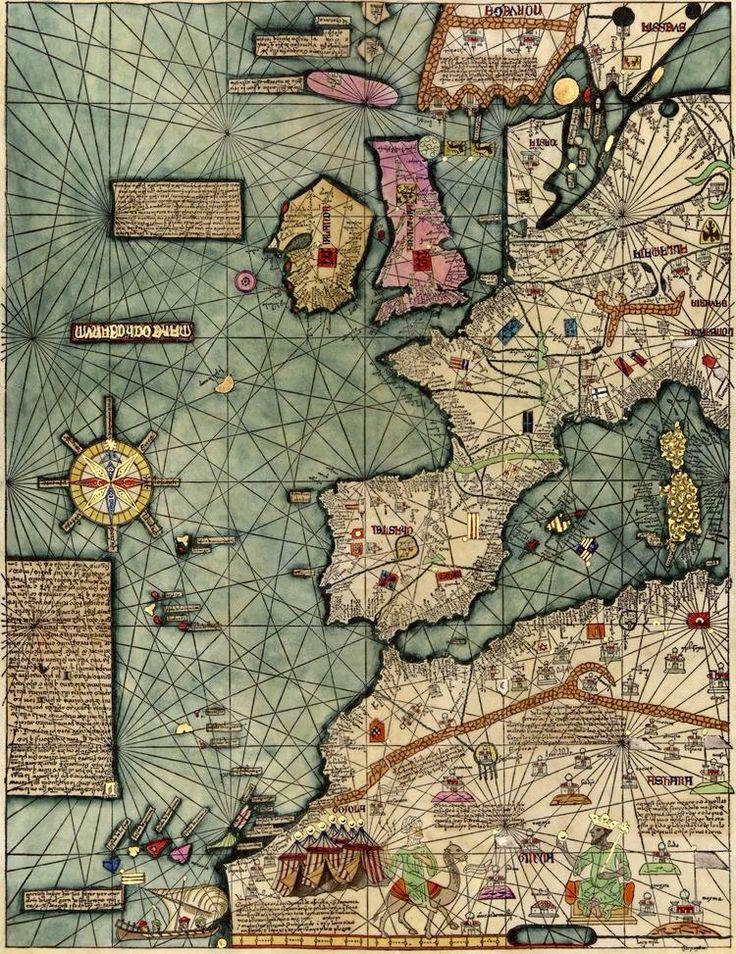 Catalan Atlas (fragment).