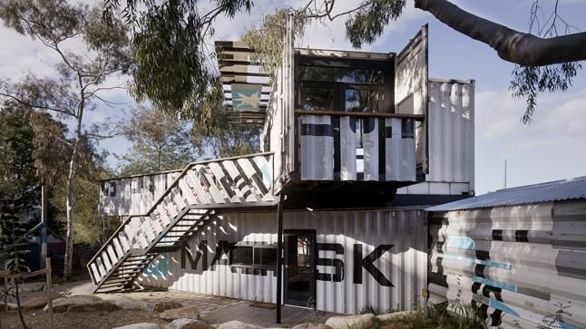 Better Homes And Gardens Shipping Container House Google Search Architecture Pinterest