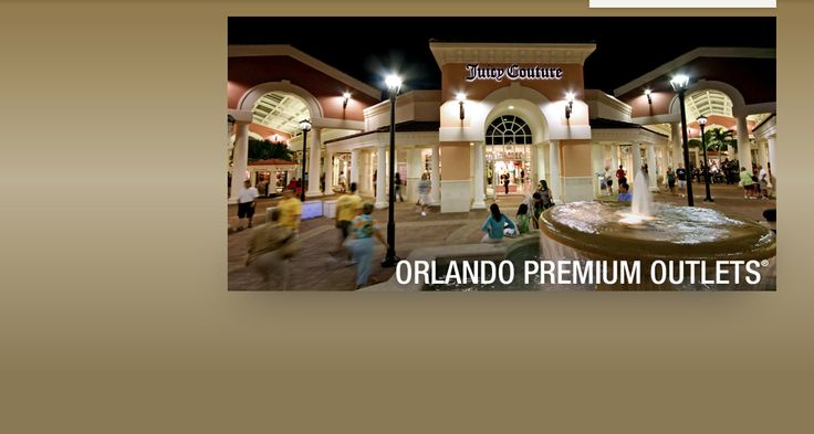 Orlando Premium Outlets - International Dr (180 outlet stores including our family business)