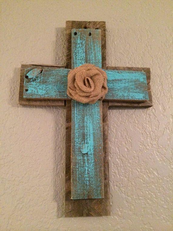Reclaimed Wood Cross by BellaBuildingCo on Etsy