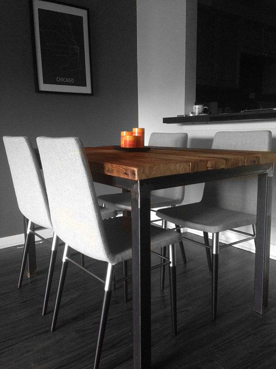 Hey, I found this really awesome Etsy listing at http://www.etsy.com/listing/157538845/the-post-dining-table