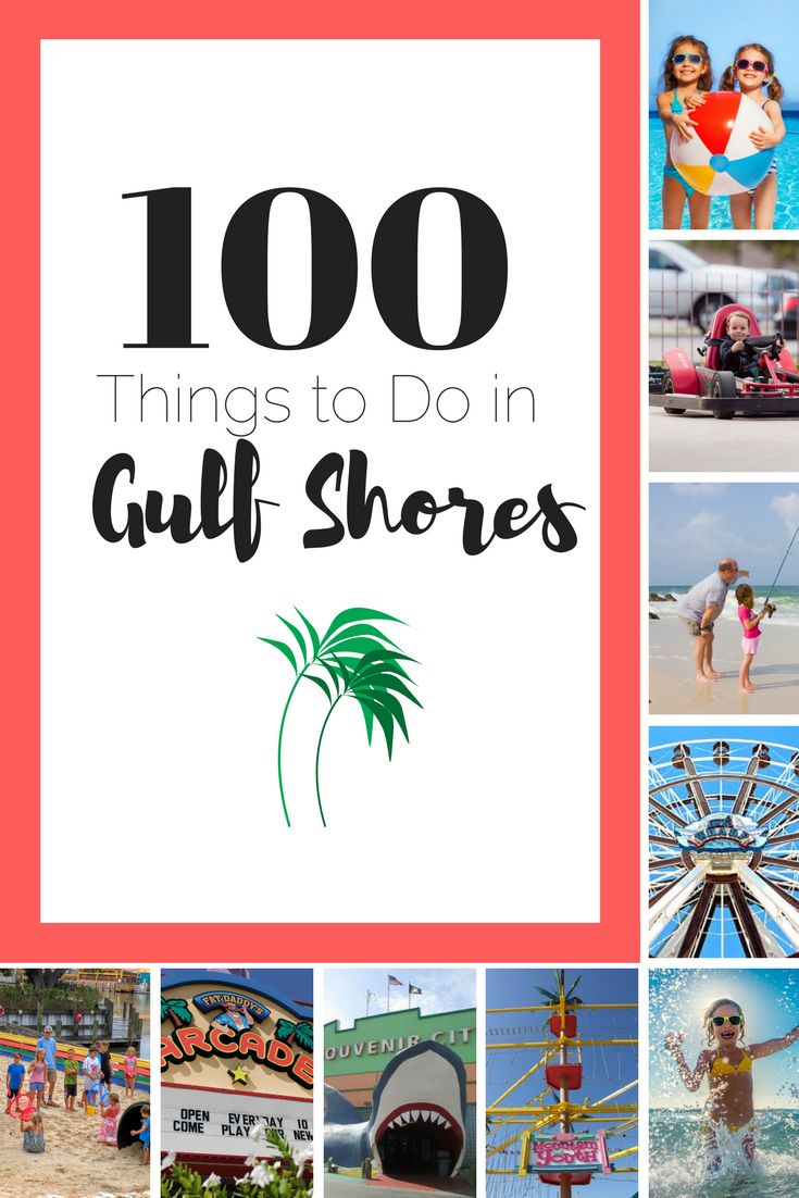 Our favorite (and comprehensive) list of things to do in Gulf Shores, Orange Beach, and Foley, Alabama | What to do on the Alabama Beaches!