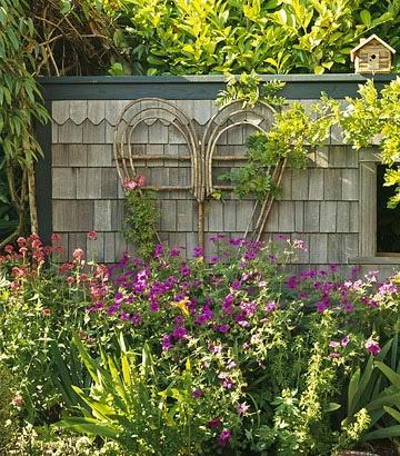 Rustic Garden Ideas rustic photograph garden shed country garden home decor wall art Trellis Design Ideas Wall Mount Trellises