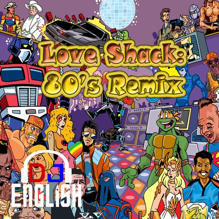 This is a mix DJ English put together for all 80s fans