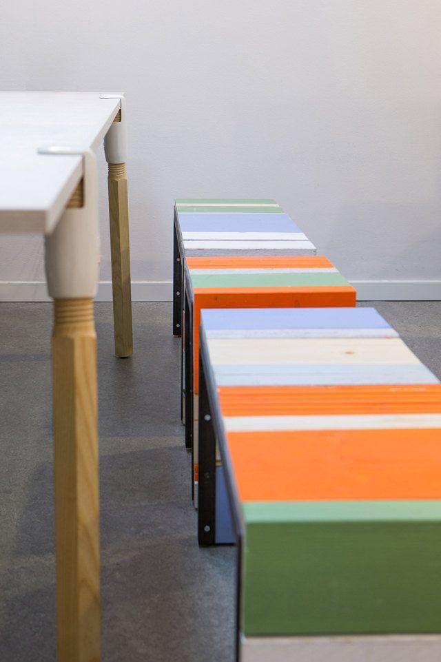 Mandala Helsinki #mobiliario #reciclado www.viviendochic.com