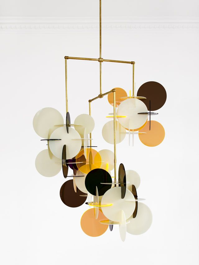 Vibeke Fonnesberg Schmid, Diciotto x 4 chandelier, 2014