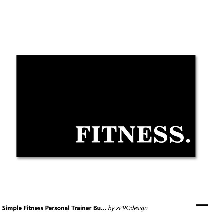 Best Business Cards Personal Trainer Images On Pinterest - Personal trainer business cards templates